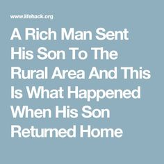 How to keep a rich man