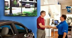 New Car Showroom Video Walls from The Automotive Broadcasting Network http://www.abnetwork.com/car-showroom-video-walls