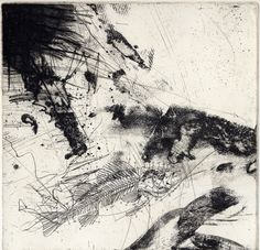 Chris Van der Veken |untitled, etching, 1997, size 20 x 20 cm