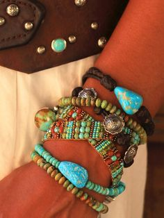 Brit West - Leather Braided Bracelet