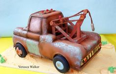 Tow Mater 3D Cake back by Verusca.deviantart.com on @deviantART