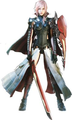 Lightning (Final Fantasy XIII) - The Final Fantasy Wiki has more Final Fantasy information than Cid could research