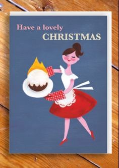 Have a lovely Christmas, here is a cake...ON FIRE!