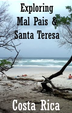 Exploring Mal Pais, Santa Teresa and Playa Carmen, three beaches popular with surfers in Costa Rica. This area is a lot more rural than other beach towns in the country so it's a great place to visit to experience a more rural beach side