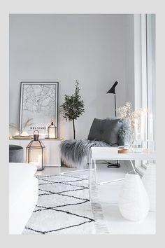 You Can Own Amazing Winter Interior Design With Low Budget Living Room Interior, Home Living Room, Living Room Designs, Living Room Decor, Nordic Living Room, Design Loft, Home Design, Home Interior Design, Design Ideas
