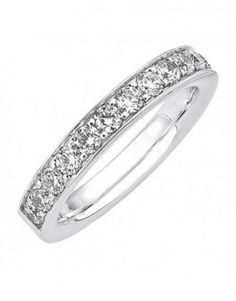 Alliance de mariage en serti grain diamants - L'alliancier
