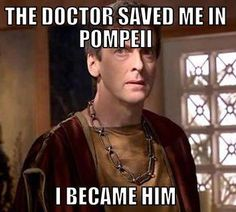 The New Doctor Who! Or was he always the new Doctor pretending he didn't recognize himself?