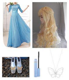 """Cinderella"" by alligatormarie ❤ liked on Polyvore featuring Swarovski, disney, cinderella and princess"