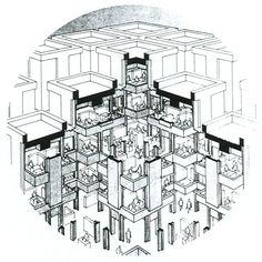 04.03 Hertzberger Herman, indruk interieur kantoor Centraal Behaar.jpg