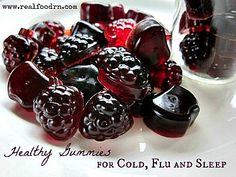 Healthy Gummies for Cold, Flu and Sleep (Nice recipe)