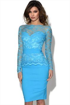Just had to pin this Tempest Billie Lace Midi Dress from www.vestryonline.com/