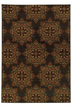 OrientalWeaversRugs-Parker-Brown-Rust-5495C