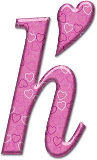 Alfabeto con osito de trapo con corazón.   Oh my Alfabetos!