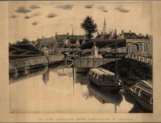 Het oude voormalige buiten Ebbingepoort te Groningen 1877