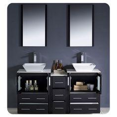 Photo Gallery Website Fresca Torino Double Modern Bathroom Vanity Set with Mirror u Reviews Wayfair