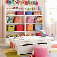 Kids' Storage Containers: Kids Colorful Woven Storage Collection in Storage Collections