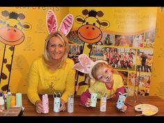 Oster-Überraschung, Basteln mit Kindern - YouTube