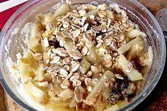Apfel-Haferflocken-Mikrowellen-Tassenkuchen