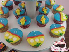 Torre de cupcakes Yellow Submarine