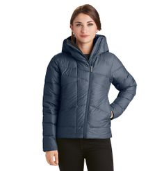 Down Hoody - Slim-fitting, hooded down jacket with a recycled poly rip-stop shell and 800 fill down.