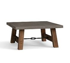concrete topped coffee table - could possibly build something like this??
