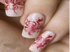 nail art: Fashion Diva Design - Best Nails Manicure Ideas Ever Fabulous Nails, Gorgeous Nails, Pretty Nails, Latest Nail Art, New Nail Art, Hot Nails, Hair And Nails, Art Romantique, Finger