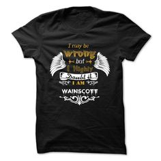 [Popular Tshirt name printing] WAINSCOTT  Coupon 5%  WAINSCOTT  Tshirt Guys Lady Hodie  SHARE and Get Discount Today Order now before we SELL OUT  Camping administrators