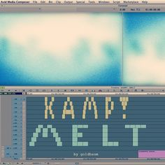 IT'S OFFICIAL. KAMP! - Melt music video by goldbaum comming soon