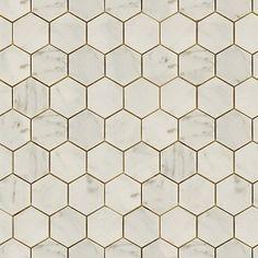 Textures   -   ARCHITECTURE   -   TILES INTERIOR   -   Marble tiles   -   Cream  - Hexagonal cream marble tile texture seamless 14259 (seamless)
