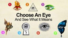 Choose an Eye – See what it means - https://themindsjournal.com/choose-an-eye/