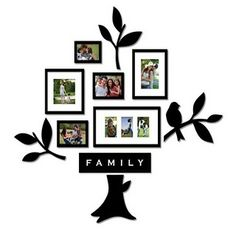 Another cute family tree idea.