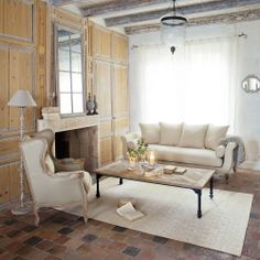 Idee casa soggiorno livingroom on pinterest - Banquette maison du monde occasion ...