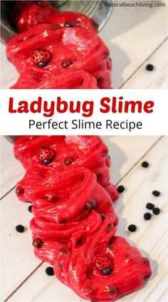 Ladybug Clear Slime Recipe a Clear Slime Recipe with Contact Solution, Perfect Kindergarten and Preschool Ladybug Theme Sensory Play, How to Make Slime Recipe with Contact Solution for Kids Science Experiment, Glitter Slime Bug Activities, Preschool Projects, Animal Activities, Preschool Bug Theme, Art Projects, Science Experiments For Preschoolers, Science For Kids, Science Diy, Elementary Science