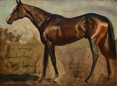 ●●'scuse me.●● Sir Alfred James Munnings, Lord Zetland's Pomme-de-Terre, oil on panel, 12 x 16 inches Horse Drawings, Animal Drawings, Alfred Munnings, Oil Pastel Colours, Horse Artwork, Equestrian Decor, Horse Silhouette, White Horses, Animal Paintings