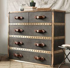 Cool dresser option nursery Voyager Steamer Dresser | Dressers | Restoration Hardware Baby & Child