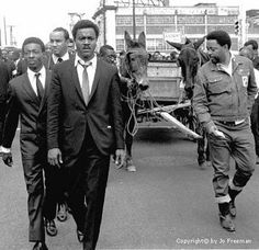 When the young preacher (Martin Luther King, Jr.) was killed, they found two mules to pull his hearse, as symbols of the his 'humility and commitment' to the poor. They found the mules in Gee's Bend.