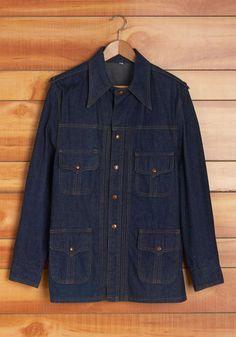 Vintage In the Autumn Air Men's Jacket, @ModCloth