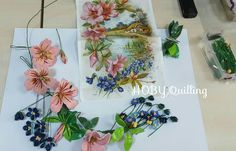 By AYŞIN AYAN .On my face page HOBY Quilling.