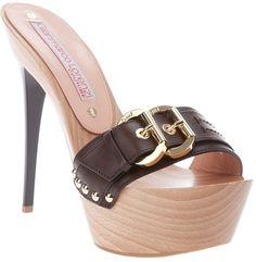 Heels Foot Fashion gianmarco lorenzi platform high heels 14 cm nothing to walk in 1050 Hot Heels, Sexy High Heels, Women's Shoes Sandals, Shoe Boots, Gianmarco Lorenzi, Platform High Heels, Platform Mules, Vintage Shoes, Heeled Mules
