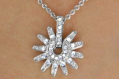 Genuine Austrian Crystal Spur Drop Necklace and Earring Set W14687NE