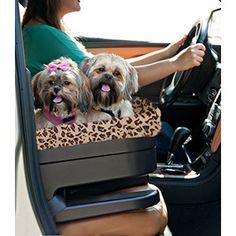 Jaguar Print Car Booster Seat