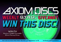 Axiom Discs Neutron Wrath Giveaway {US} (8/15) via... sweepstakes IFTTT reddit giveaways freebies contests