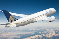 airliner special paint  | ... Airlines Boeing 787-8 Dreamliner livery. (Image by United Airlines