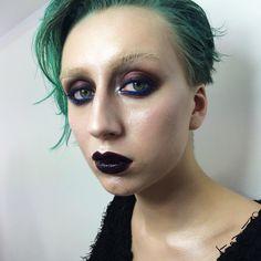 Makeup & hair by me  Model @engletta  Смотрите кучу сегодняшних трансляций в #periscope (chilly_dash) с нейтральным мэйком, болтушки с Сэмом Щавлевым и немного трансляции с этим макияжем✌️