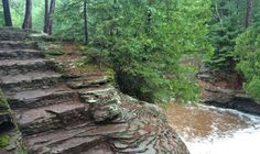 The Hiking Trail Hiding In Wisconsin That Will Transport You To Another World...Amnicon Falls State Park is located at 4279 S County Road U, South Range, WI 54874
