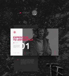 Latvian Geologists Polar Expedition on Behance Web Design, Logo Design, Graphic Design, Hiking Norway, Music Artwork, Antarctica, Visual Identity, Art Direction, Creative Art