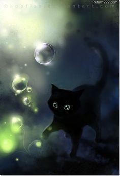 El gato negro de la ilustración                                                                                                                                                                                 Más