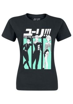 Characters - T-shirt van Yuri On Ice