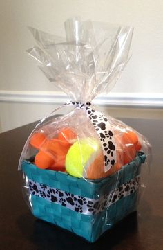 Pet Gift Basket Dog Gift Basket featuring toys for by DoggyTrakxx, $12.99