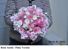 Fresh Flower Bouquet - Rosie Austin (Pinky Version)